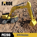 CE certified 1:8 scale Hydraulic RC Excavator model PC280 RTR Version