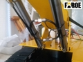 CE certified 1:8 scale Hydraulic RC Excavator model PC280 empty Version