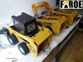 CE certified 1:12 Scale RC hydraulic Wheel Loader model 228 RTR Version