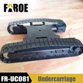 Metal undercarriage track Chassis for 1/8 RC Excavator model