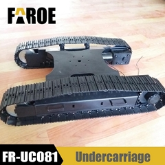 Metal undercarriage trac