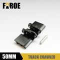 1/12 Rc hydraulic excavator Track Metal Crawler 50mm*20mm track shoes