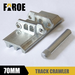 Rc hydraulic excavator Track Metal Crawler 70mm track shoes