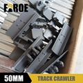 Metal Track Crawler 50mm track shoes for 1/12 Rc hydraulic model