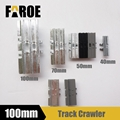 Track Metal Crawler 100mm track shoes for 1/12 Rc hydraulic excavator model
