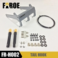 Hook for rc hydraulic track loader full metal