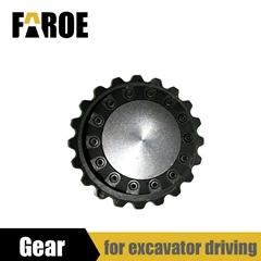 Gear for RC Excavator model walking