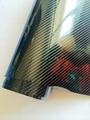 5D Glossy Carbon Fiber Vinyl Like Real Carbon Fibre Sheets Air Channel