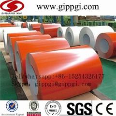 High-strength G550 prepainted galvanized steel coil sheet