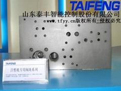 山東泰豐液壓注塑機用閥塊系列
