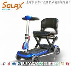 外觀時尚電動折疊老人代步車