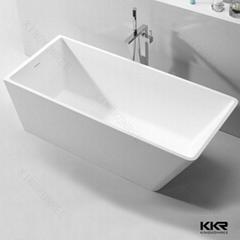 china new design bathtub artificial stone bathtub