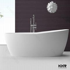 KKR factory supply artificial stone soft bathtub