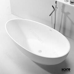 Construction hotel artificial stone bowl bathtub