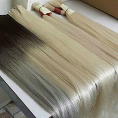 color double drawn hair
