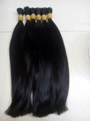 premium double drawn hair