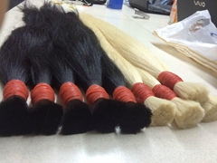 double drawn hair 28'' color 60