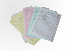 深圳收据印刷 合同印刷 复写联单印刷