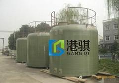 玻璃鋼硫酸儲蓄罐-港騏