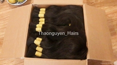 High quality Vietnamese remy single drawn, double drawn hair best selling