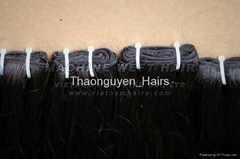 Weft remy unprocessed hair