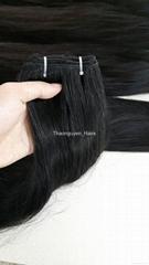 Machine Weft unprocessed remy hair