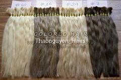 Best quality Vietnamese remy color human hair