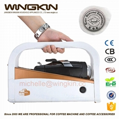 Coffee machine for 12V car travel use espresso maker
