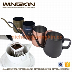 mini hand pour over coffee pot for paper hand drip coffee