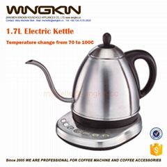long thin spout electric kettle with ETL for coffee lover