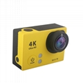low price waterproof 4k action camera with accessories and wifi 1