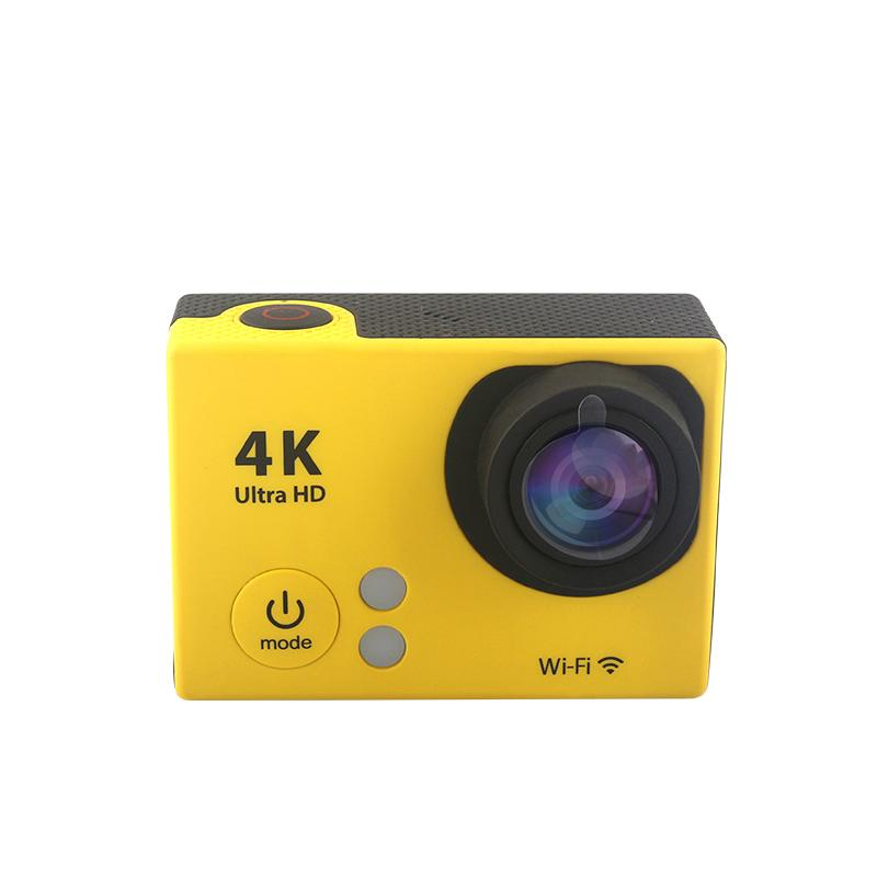 low price waterproof 4k action camera with accessories and wifi 2