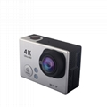 low price waterproof 4k action camera with accessories and wifi 3