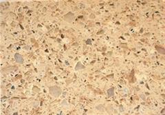 Classic bicolourable quartz stone