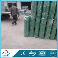 Green PVC Coated Wire Me