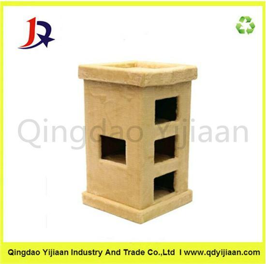 Pet cardboard cat house factory price 1