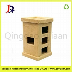 Pet cardboard cat house factory price