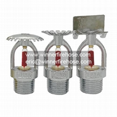 UL Listed Automatic Chromed Bronze Fire Fighting Sprinkler