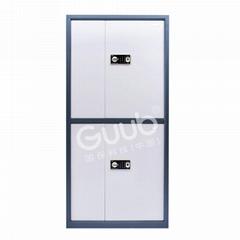 國保保密櫃Z168V3整體雙節四門指紋密碼鎖文件櫃