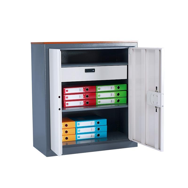 國保保密櫃Z168V1整體雙節四兩門指紋密碼鎖文件櫃 3