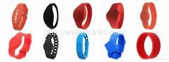 FCTRFID Silicone Wristband