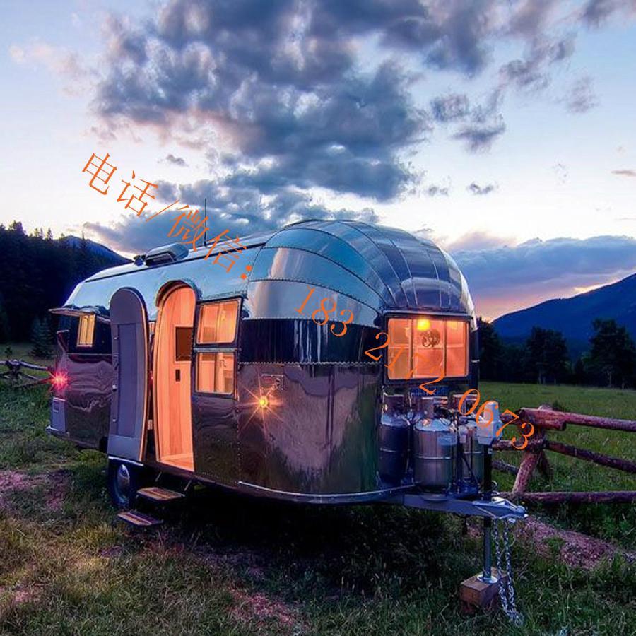 stainless steel flat grill mobile food trailer open fryer fast food truck  3
