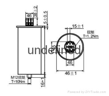 水泥厂电力系统专用补偿电容器 3