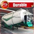 Fudeng 40cbm V shaped bulk cement tanker