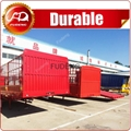 3 axle fence livestock animal transport
