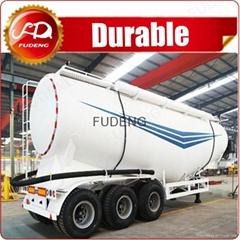 2017 New V type diesel pump bulk cement tanker truck and tank trailer
