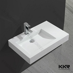 Small Corner Wash Basin : 100 acrylic solid surface wash basin small corner wash basin