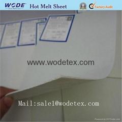 Hot melt sheet