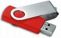 2016 Promotional Classic Plastic Swivel OTG USB Flash Drive with Full Capacity