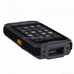 Android sysytem UHF RFID Reader smartphone 1D 2D wifi bluetooth